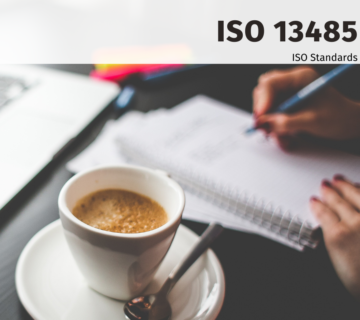 ISO 13485:2016 MEDICAL DEVICES & IA TRAINING